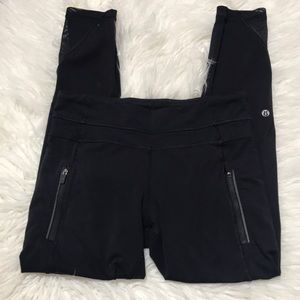 Lululemon crop mid rise leggings